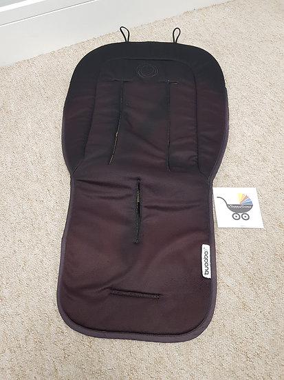 Bugaboo universal seat liner - faded - black