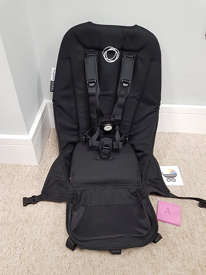 Bugaboo Donkey V2 seat fabric black - A GRADE