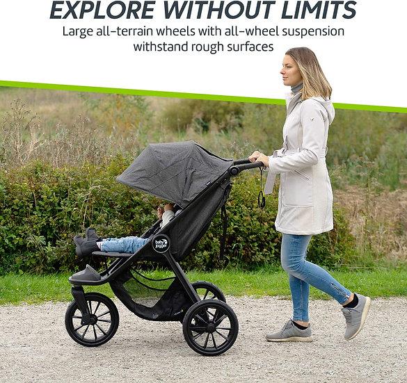 Baby Jogger City Elite 2 Pushchair PLUS raincover - Black RRP £573