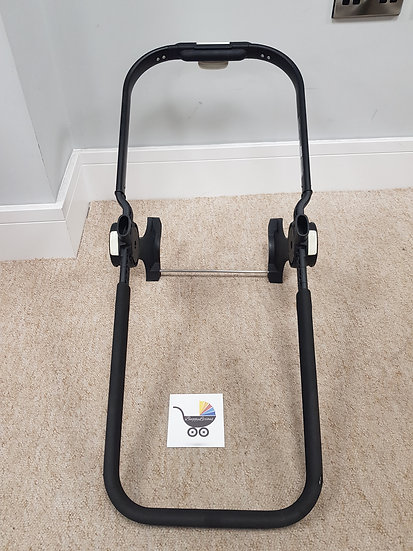 Bugaboo Donkey V1 Black seat/carrycot frame 004