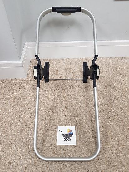 Bugaboo Donkey V1 Aluminum Silver seat/carrycot frame 003