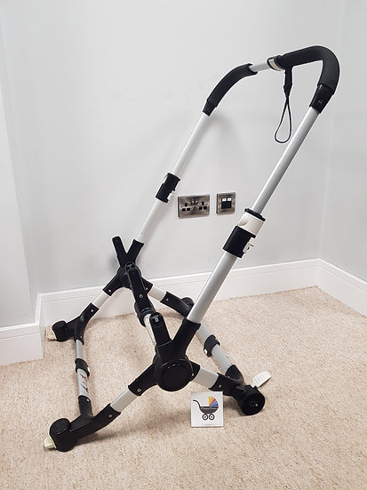 Bugaboo Donkey V1 chassis silver - 2011