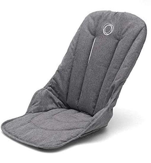 Brand New Bugaboo Fox Seat fabric - grey melange