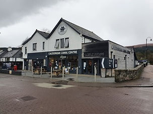 Caledonian Canal Centre Shop