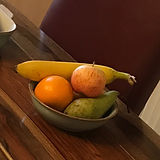 Welcome fruit bowl