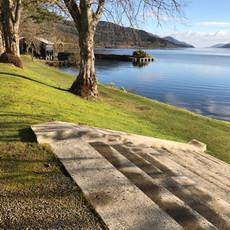 Steps to Loch Ness