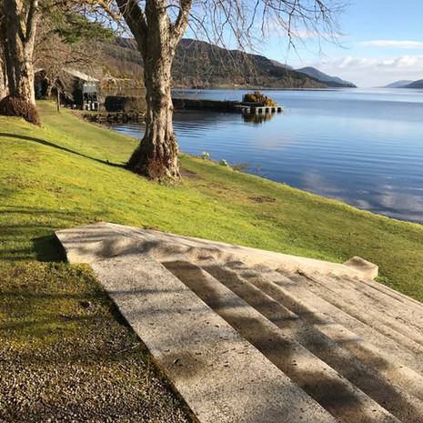 Steps to Loch Ness