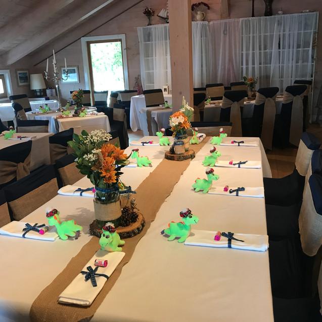 Boathouse Wedding Reception
