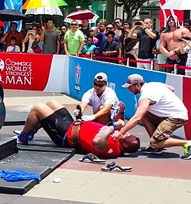 Treating a Worlds Strongest Man