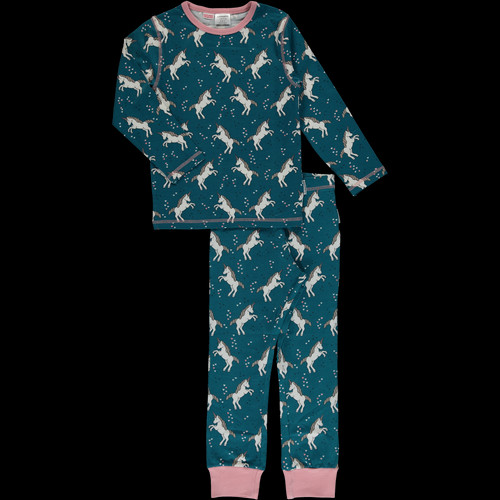 7b5277dd8d327 Maxomorra Unicorn Dreams long-sleeve pyjamas