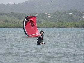 apprendre kitesurf Martinique