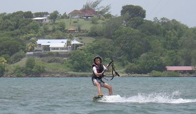 Ecole de kitesurf Vauclin Martinique