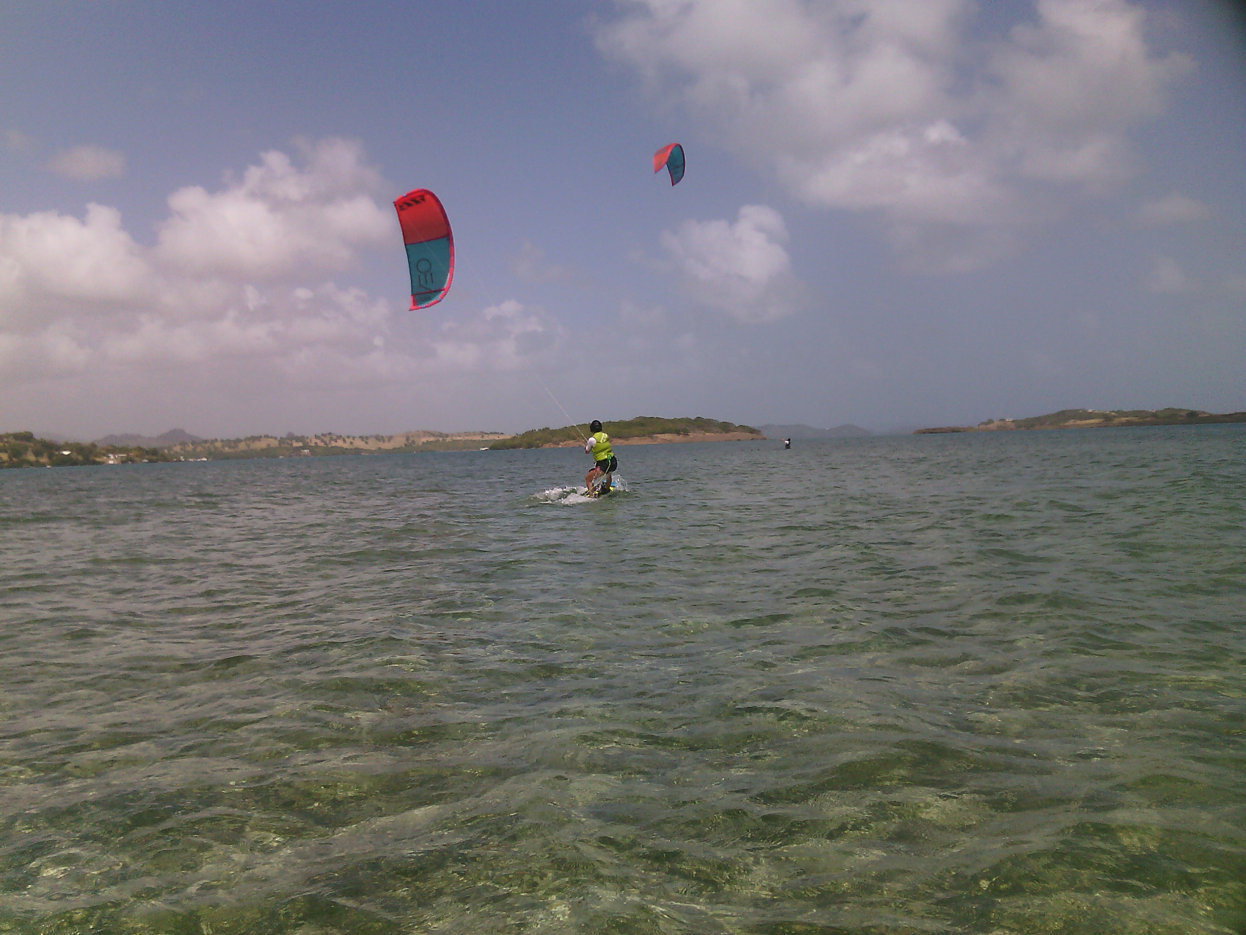 Initiation au kitesurf en Martinique