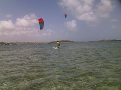 Initiation au kitesurf en Martinique