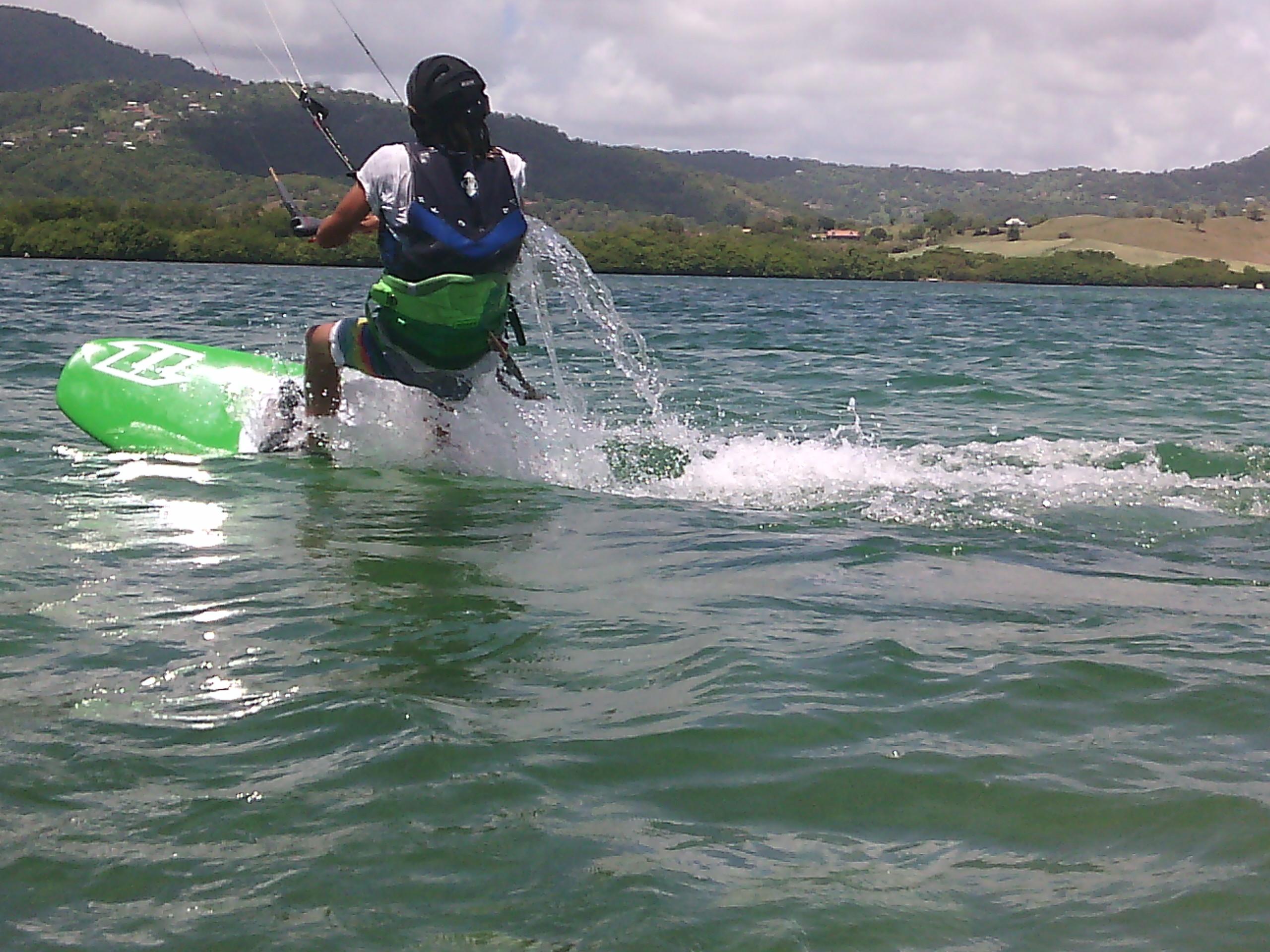 cours de kitesurf martinique