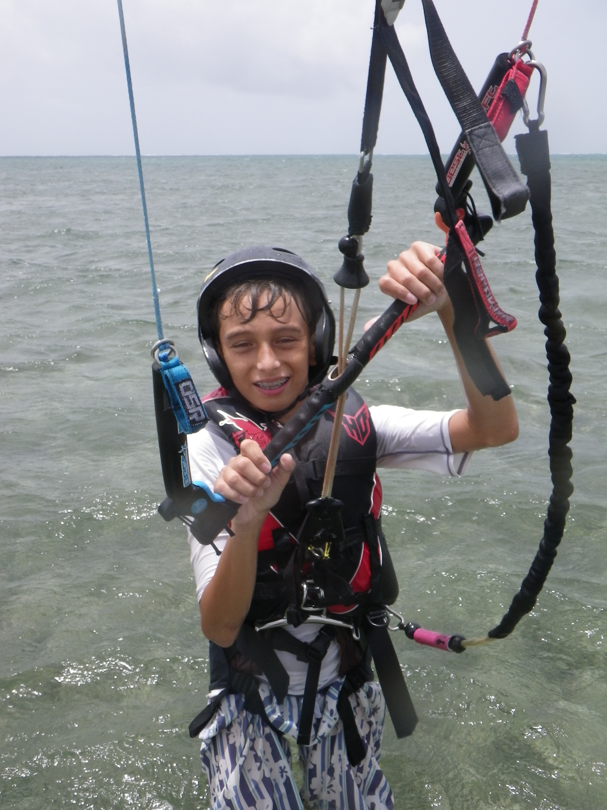 Cours de kitesurf collectif
