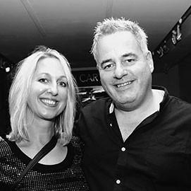 Beth Carter & Stuart Mictchel