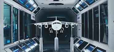 Repülőgépipar, schlieren képalkotás gyorskamerával