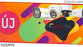 Új ColorVu kamerák 4K felbontással és varifokális lencsével