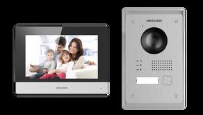 Termékbemutató és teszt: Új Hikvision kétvezetékes kaputelefon szett