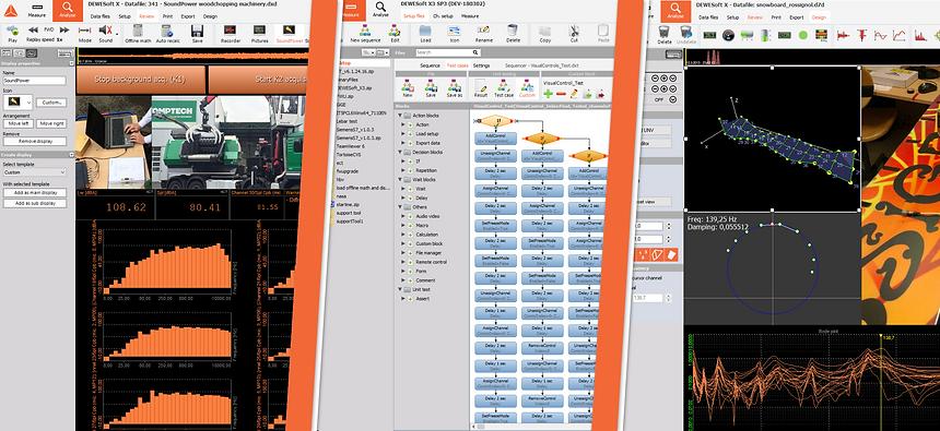 Dewesoft X adatgyűjtő szoftver