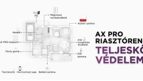 AX PRO vezeték nélküli riasztórendszer: megbízhatóbb behatolásjelzés, kevesebb téves riasztás