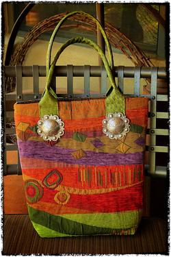 Colorful Fabric Tote