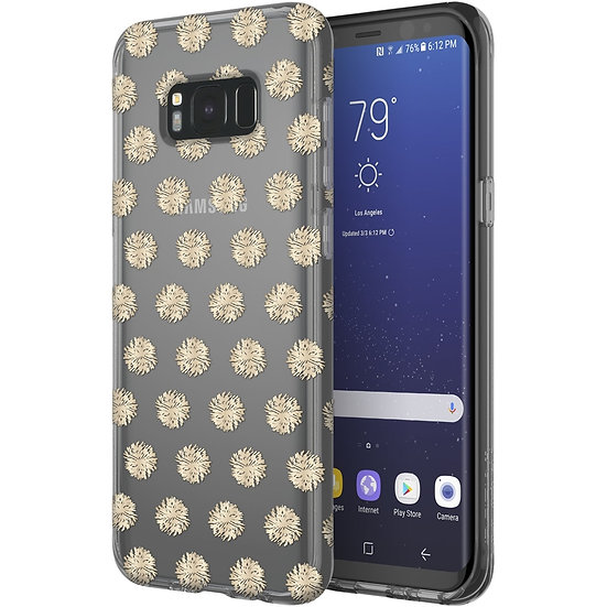 Incipio - Design Series Case for Samsung Galaxy S8+ - Pom pom