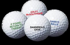 Promo Branding Golf Balls