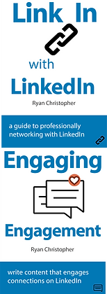 Link In with LinkedIn & Engaging Engagement Ebooks