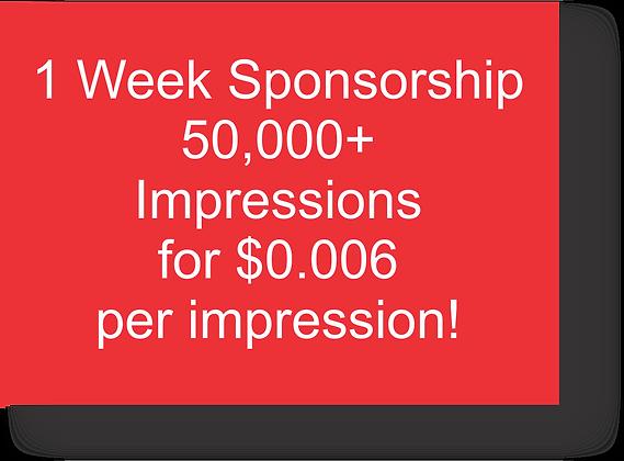 QuadMeets One Week Sponsorship