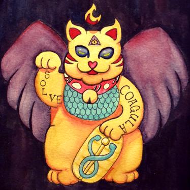 Baphomoneycat