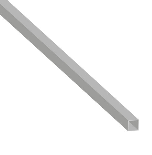 Half Height 40mm Square Straight Post (1250mm)