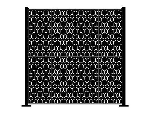 Full Height Arabian Geometric - 2600 x 2500mm