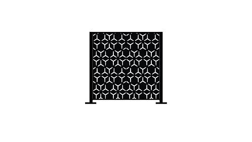 Half Height Arabian Geometric - 1280 x 1250 x 40mm
