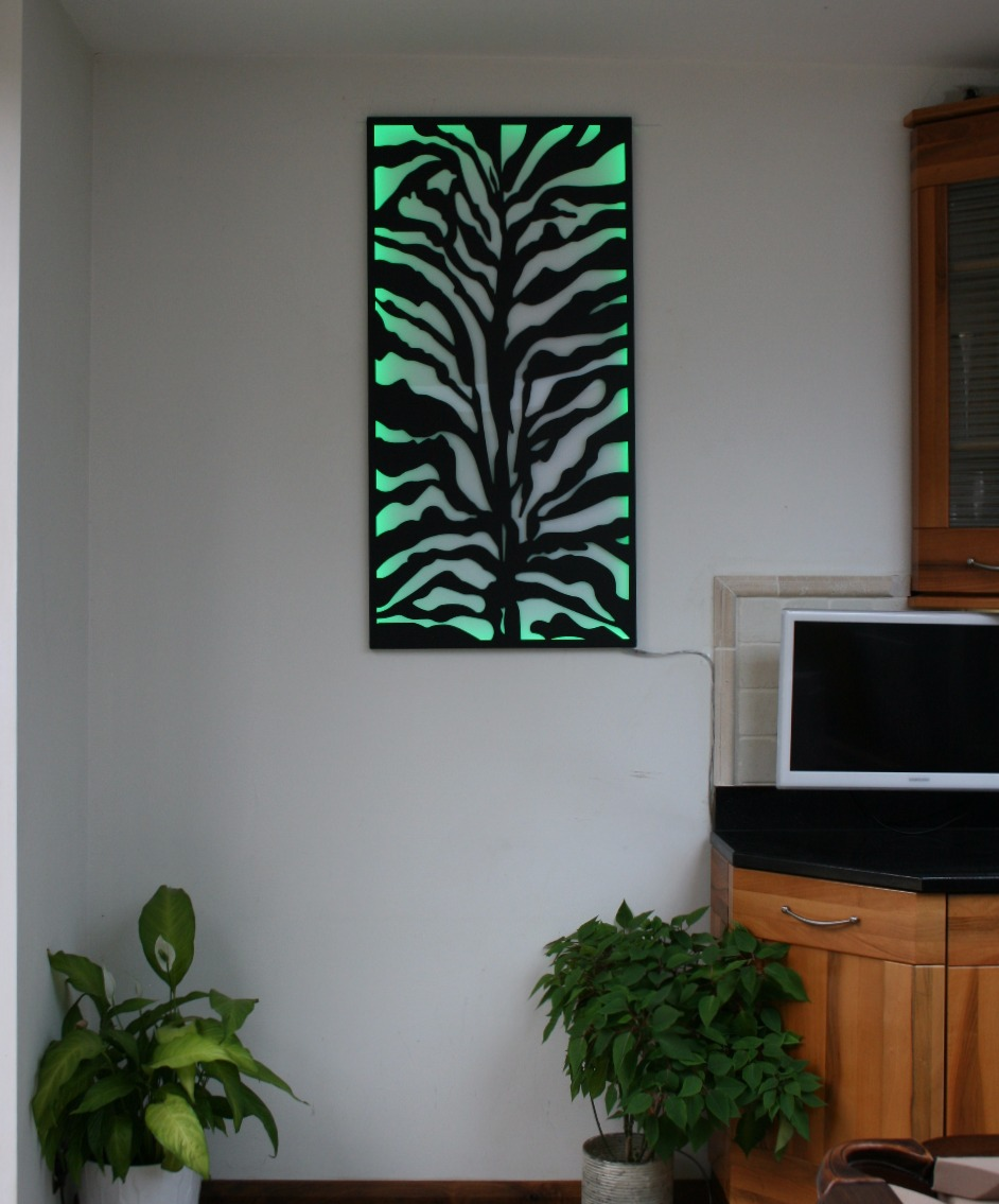 Black Zebra Wall Art