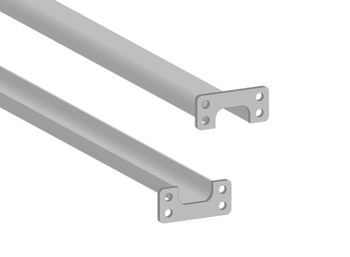 Top & Bottom Support Rail 1800mm
