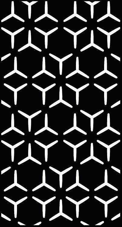 Arabian Geometric Back Plate (1200x600x2mm)