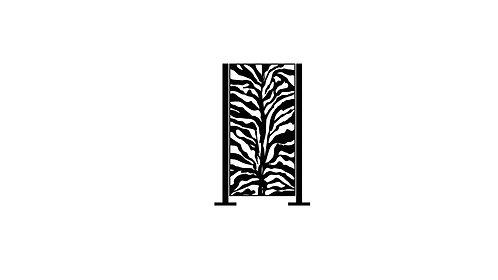 Half Height Zebra Print - 680 x 1250 x 40mm