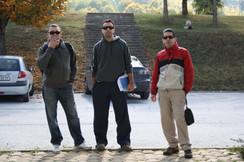 Dejan Topchievski, Vasil Karev and Bojan Milinovikj