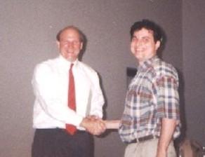 Steve Ballmer, Microsoft и Венко Глигоров