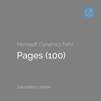 Dyn365 BC Pages / Forms (100) (Monthly Subscription)