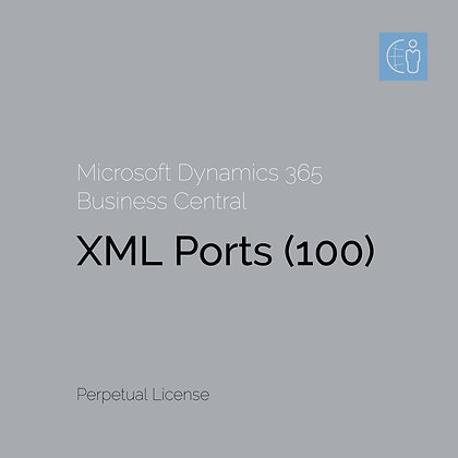 Dyn365 BC Порти XML (100)