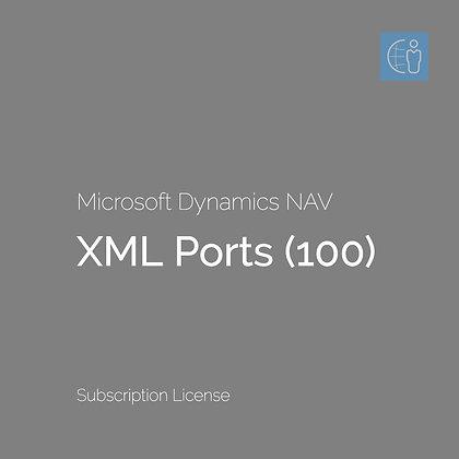 Dyn365 BC XML Ports (100) Subscription