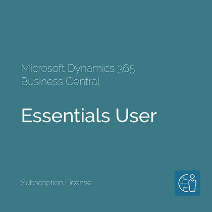 Dyn365 Business Central Essential User (Subscription)