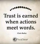 Крис Батлер за довербата