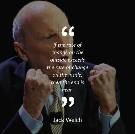 Jack Welch on Change