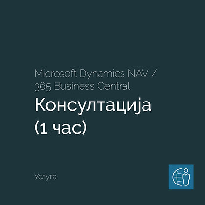 Dynamics 365 Business Central – Консултација (1 час)