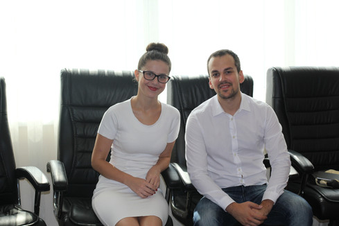 Meri Todoroska and Mihail Andonovski