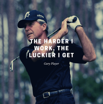 Gary Player For The Job